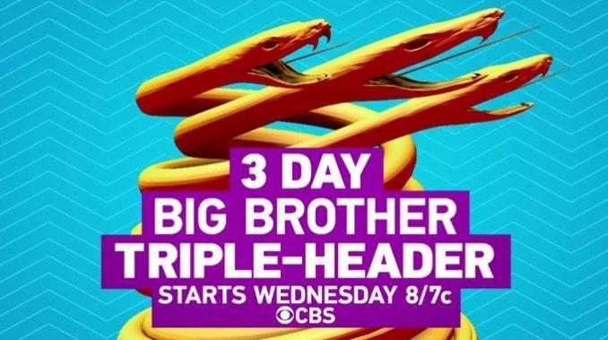 Triple Header on Big Brother 19