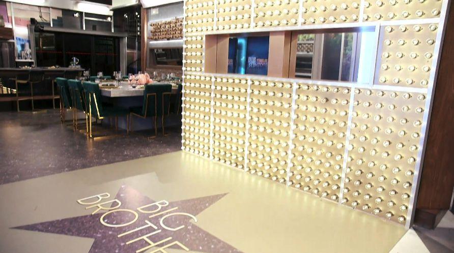 Celebrity Big Brother foyer