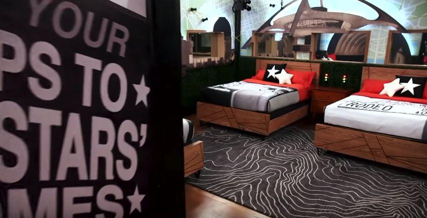 Celebrity Big Brother bedrooms 06