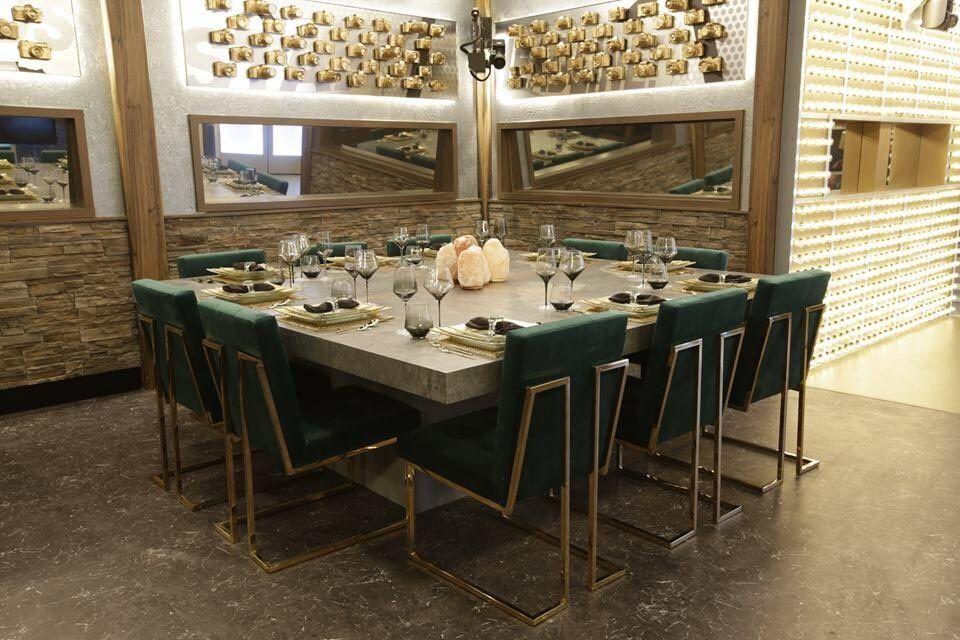 Celebrity Big Brother 2018 House – Dining 01