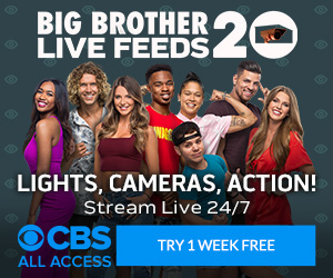 Big Brother 20 Live Feeds on All Access