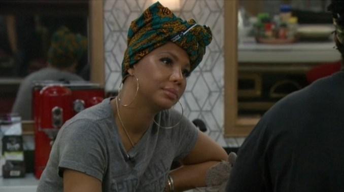 Tamar on Celebrity Big Brother Live Feeds