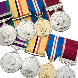 Medal Mounting Service • Medal Makers - Commemorative and Military