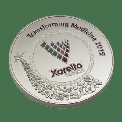 Bayer Pharmaceuticals Xarelto 2015 Medal