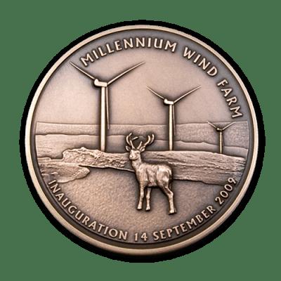 Millennium Wind Farm Medal