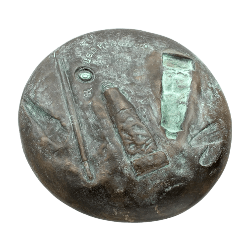 Lenkiewicz weight of paint medal front