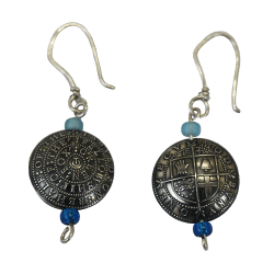 Modbury Silver Earrings