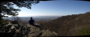 Two Andy's on Annapolis Rocks