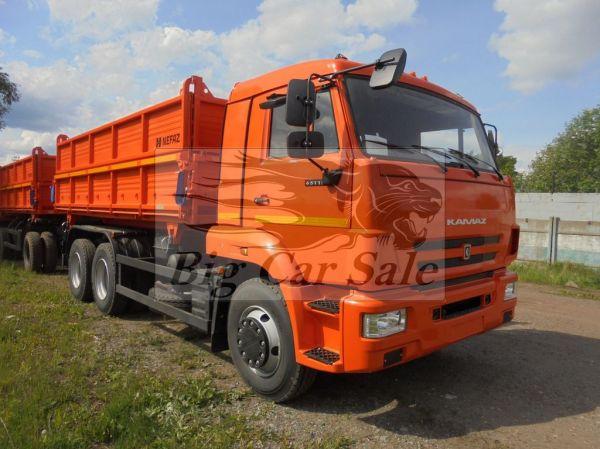 Автосамосвал КАМАЗ 45143-776012-42 сельхозник