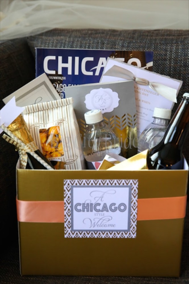 How To Make Wedding Gift Bags