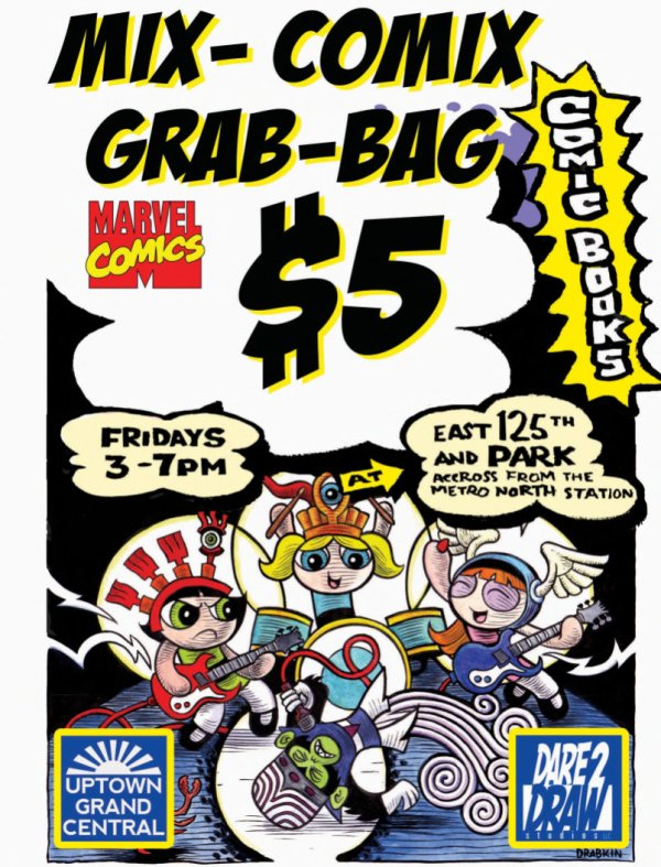 Marvel Comics Grab Bags