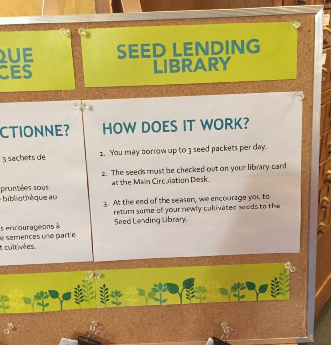 How does a Seed Lending Library work?