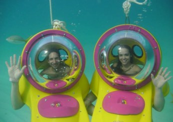 bob underwater