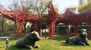 парк скульптур Шанхай 7