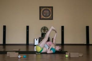 Masha fitness class
