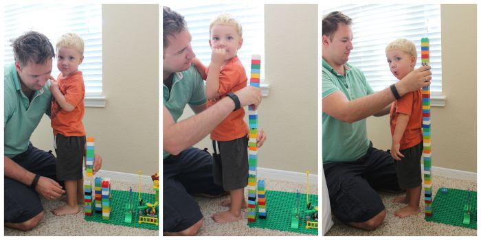 LEGO ростомер