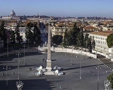 Rome's Magical Dining At IL Porto Di RipettaIn The Piazza Del Popolo