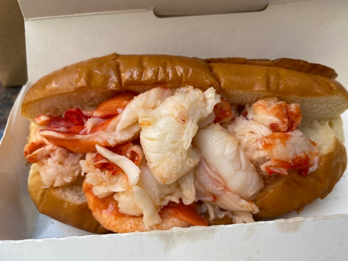 Maine Lobster Rolls On The Streets Of Manhattan