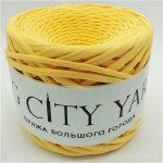 Βαμβακερό νήμα για πλέξιμο, Big City Yarn, Μάνγκο
