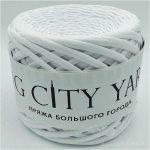 Βαμβακερό νήμα για πλέξιμο, Big City Yarn, Λευκό