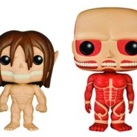 Funko unveils 'Attack on Titan' POP! Vinyl figures!