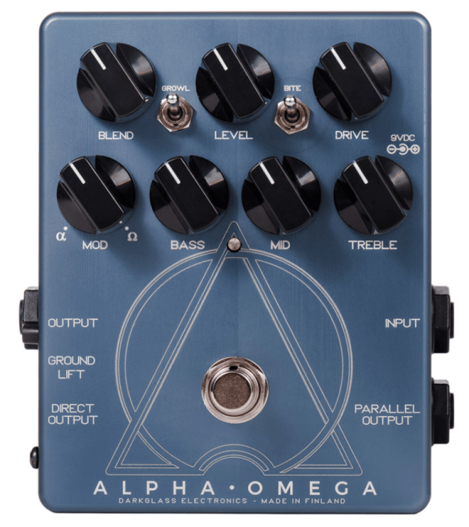 Darkglass Electronics Alpha - Omega Distortion - gear acquisition syndrome