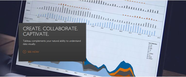 Review of 20 best big data visualization tools Tableau