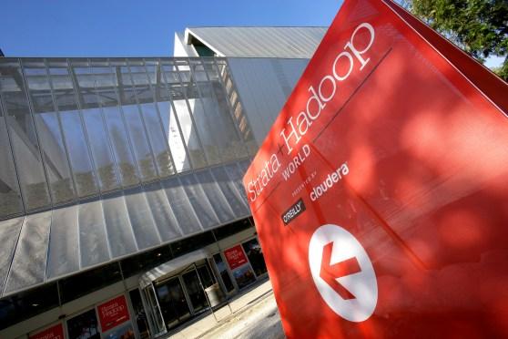 Strata + Hadoop World 2014 entrance