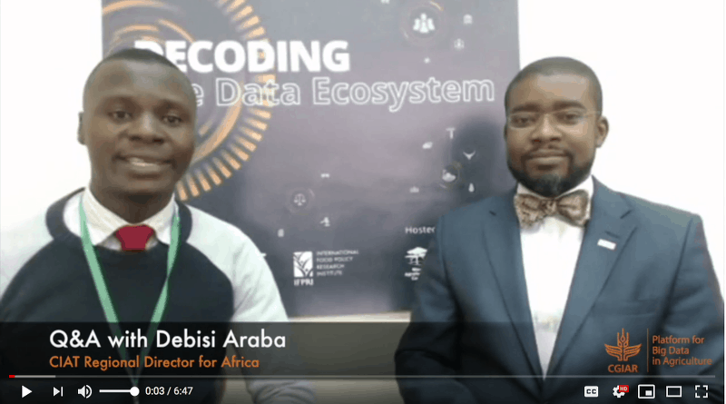 Q&A with Debisi Araba, CIAT Regional Director for Africa