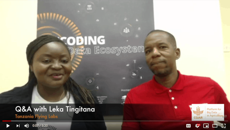 Q&A with Leka Tingitana from Tanzania Flying Labs