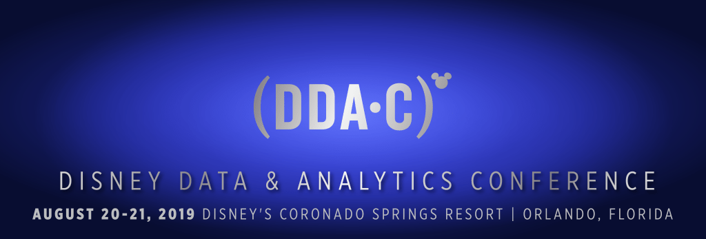 If you have not registered for Disney's Data & Analytics Conference 2019… WHAT ARE YOU WAITING FOR?!