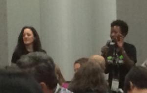 Yolanda Davis at Big Data Women Lunch
