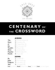 Centenary of the Crossword