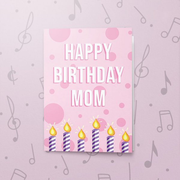 Happy Birthday Mom Musical Birthday Card Bigdawgs Greetings