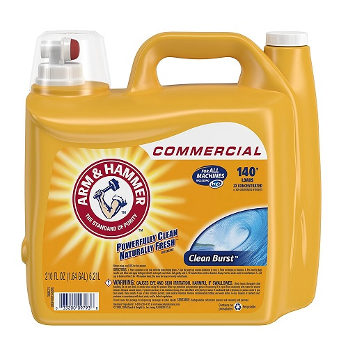 Arm and Hammer Dual HE Clean-Burst Liquid Laundry Detergent
