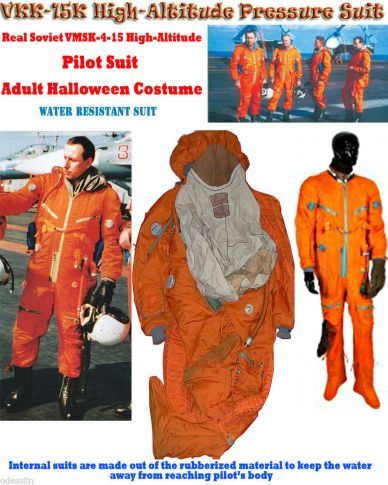 Genuine High Altitude Pilot Suit RUSSIAN PILOTSUIT Made in USSR 1988