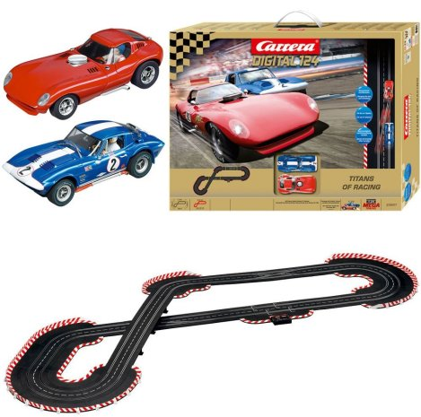 carrera digital 124 titans of racing slot car set sell. Black Bedroom Furniture Sets. Home Design Ideas