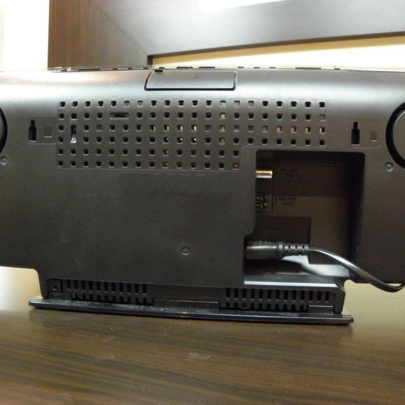 Panasonic SC-HC37 Audio Stereo System Auto-Sliding Dock for CD iPod iPhone back
