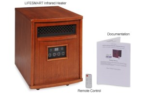 LIFESMART Infrared Heater Product Details