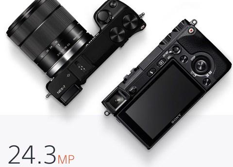 Sony Alpha NEX-7K 24.3MP Digital Camera - Kit with E OSS 18-55mm Lens