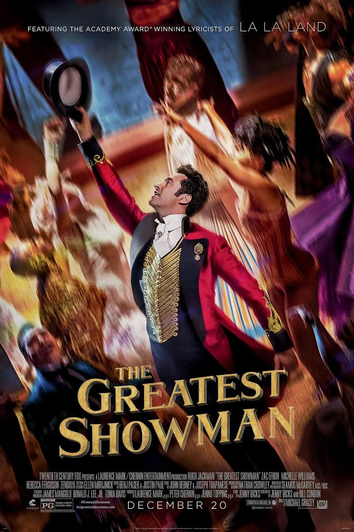 Born entertainer P.T. Barnum (Hugh Jackman) aims to put together the most fantastic show the world has ever seen. The good news? He's pretty great at it.
