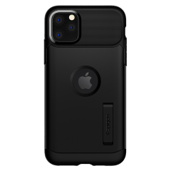 Spigen – Slim Armor Case For Apple Iphone 11 – Black