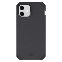 Itskins – Supreme Solid Case For Apple Iphone 12 Mini – Black And Red