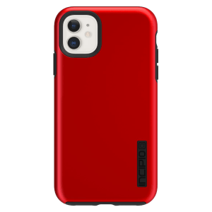 Incipio – Dualpro Case For Apple Iphone 11 – Iridescent Red And Black