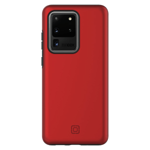Incipio – Dualpro Case For Samsung Galaxy S20 Ultra – Iridescent Red And Black