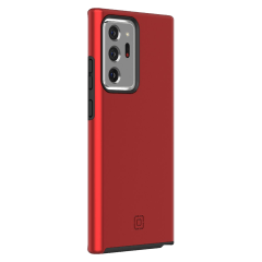 Incipio – Dualpro Case For Samsung Galaxy Note20 Ultra 5g – Iridescent Red And Black