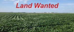 Farm Land Wanted