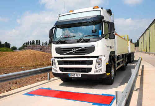 Weighbridge with high precision double ended shear beam in uganda