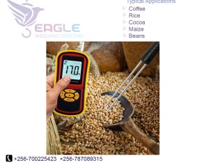 Moisture meters for cocoa and coffee