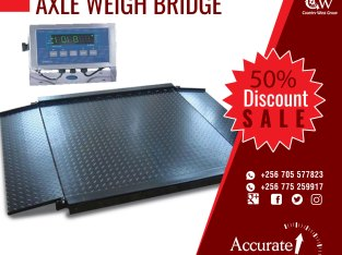 50ton weighbridge certified supplier in Kampala Uganda